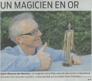 Jerry Pilar - Un magicien en or